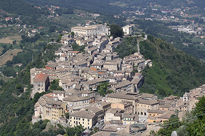 Panorama di Civita Falconara