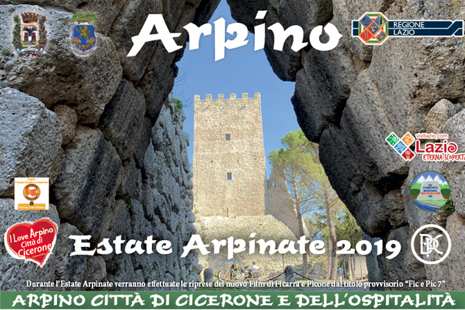 Estate Arpinate 2019 -  Eventi e Appuntamenti